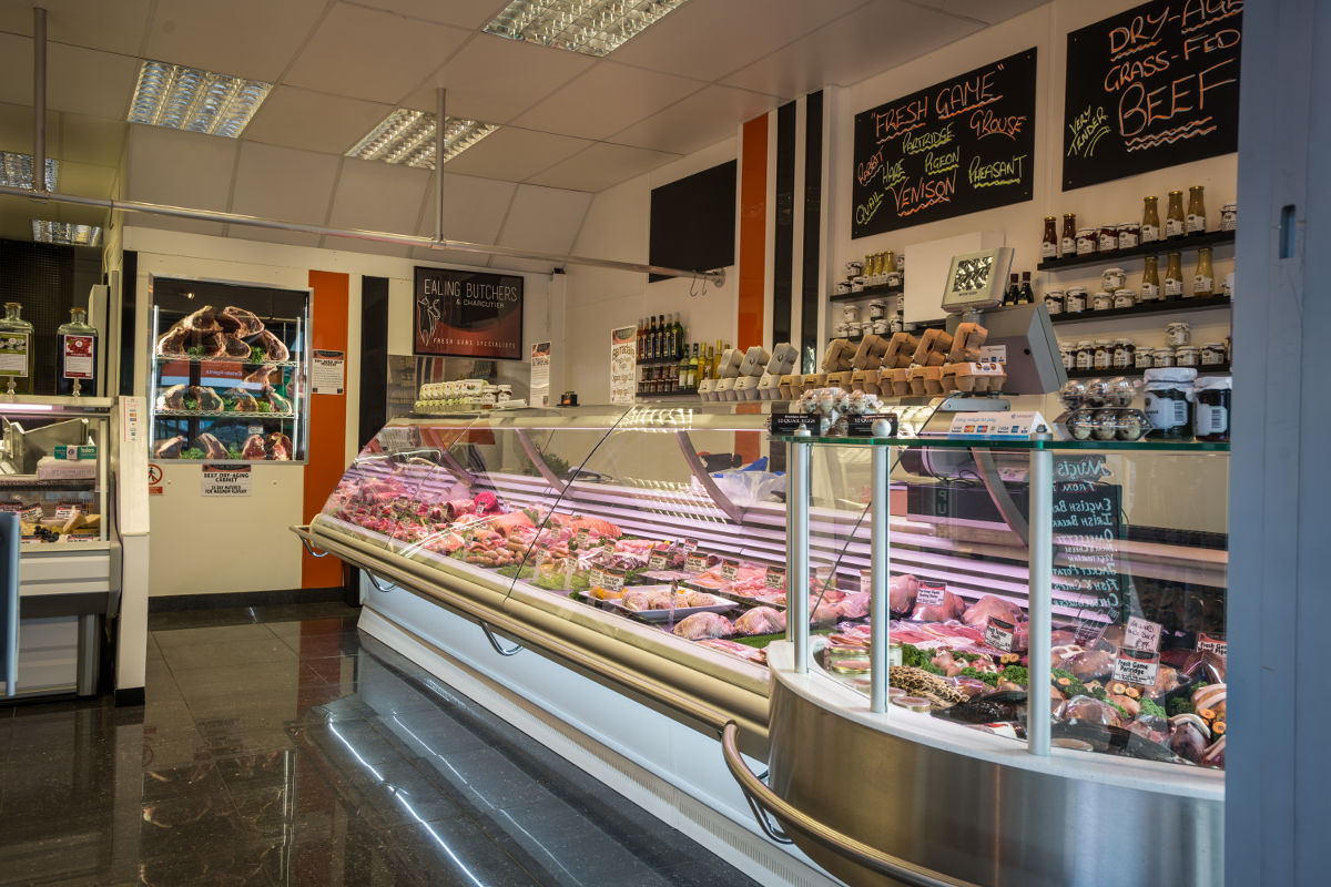 Interior of Ealing Butchers and Charcutier