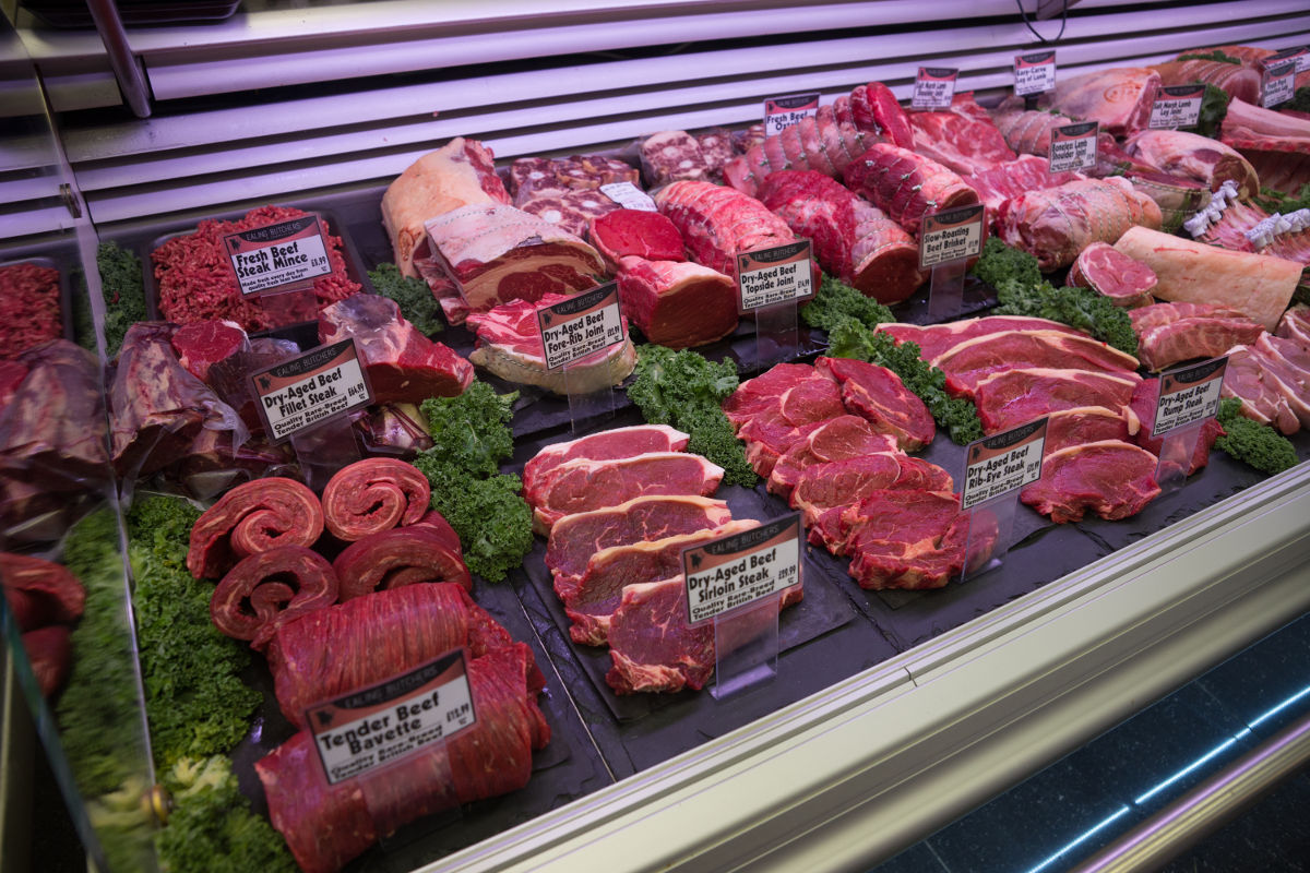 Ealing Butchers by Ealing Common Station offer wide selection of high quality meats